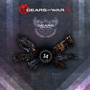 Emissive Black Steel Weapon Set Xbox One