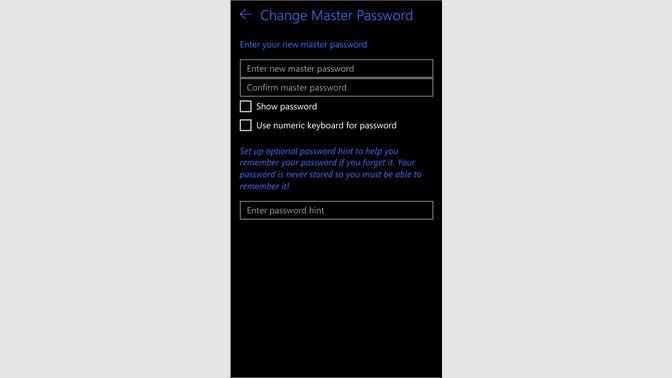windows 10 show password hint
