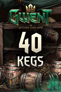 GWENT – 40x Card Kegs