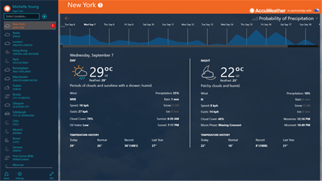 AccuWeather - Weather for Life Screenshots 2