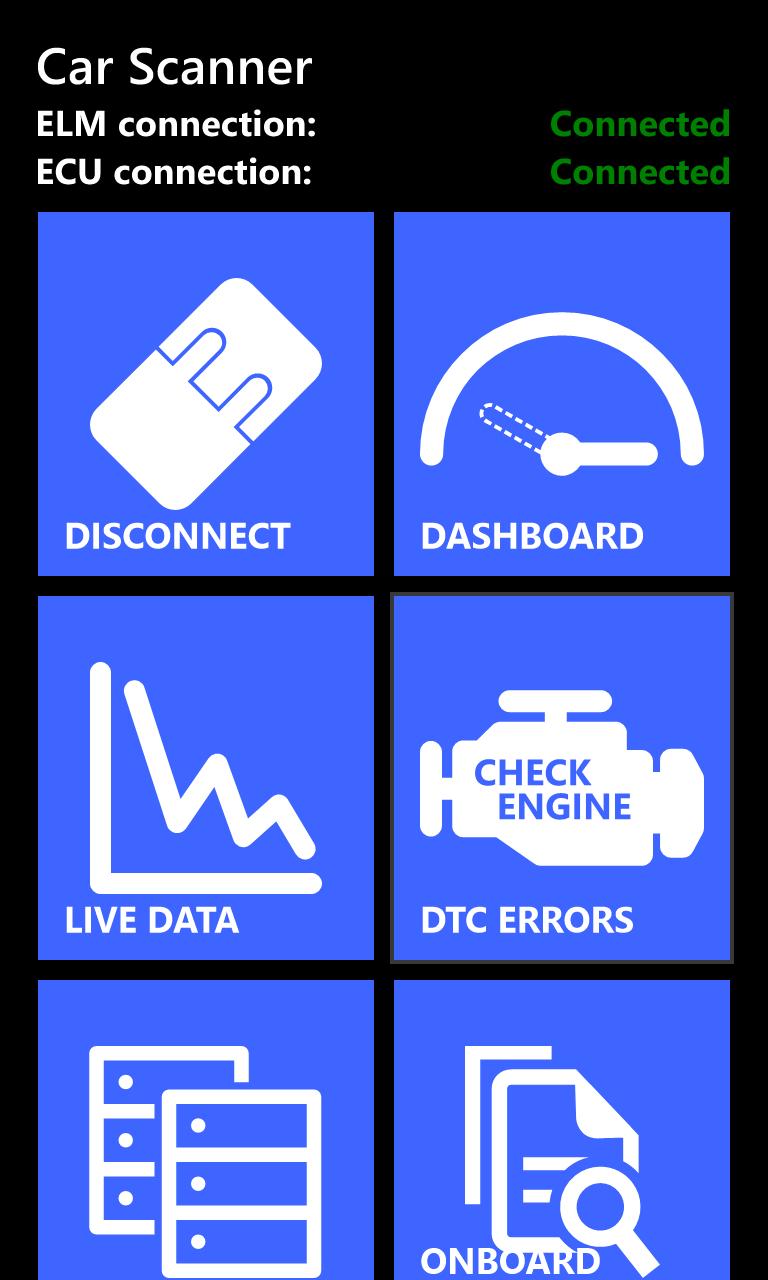 Car Scanner ELM OBD2 for Windows 10 Mobile