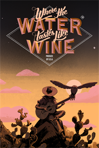 Carátula para el juego Where the Water Tastes Like Wine: Xbox Edition de Xbox 360