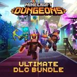 Minecraft Dungeons Ultimate DLC Bundle Logo