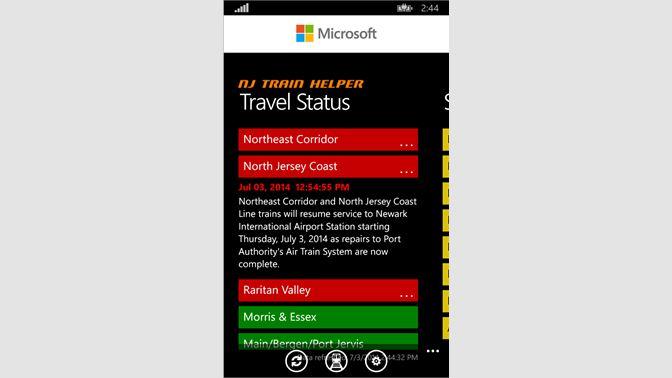 Get NJ Train Helper - Microsoft Store