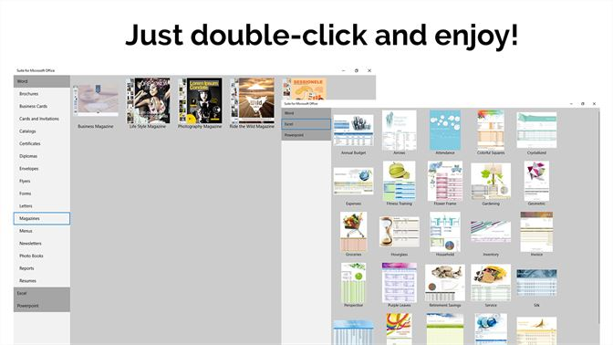 Templates For Microsoft Office Screenshot 2