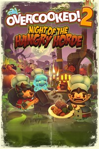 Carátula del juego Overcooked! 2 - Night of the Hangry Horde