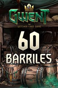 GWENT – 60x barriles de cartas