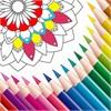 Coloring Book Mandala Draw