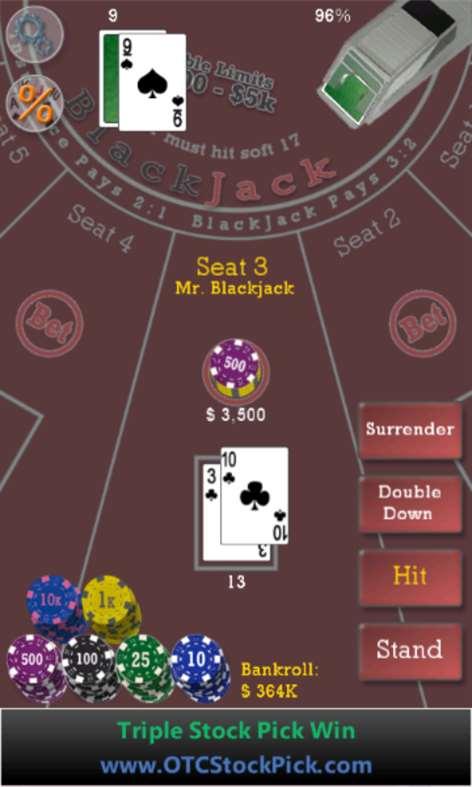 Advanced 21 Blackjack Screenshots 2