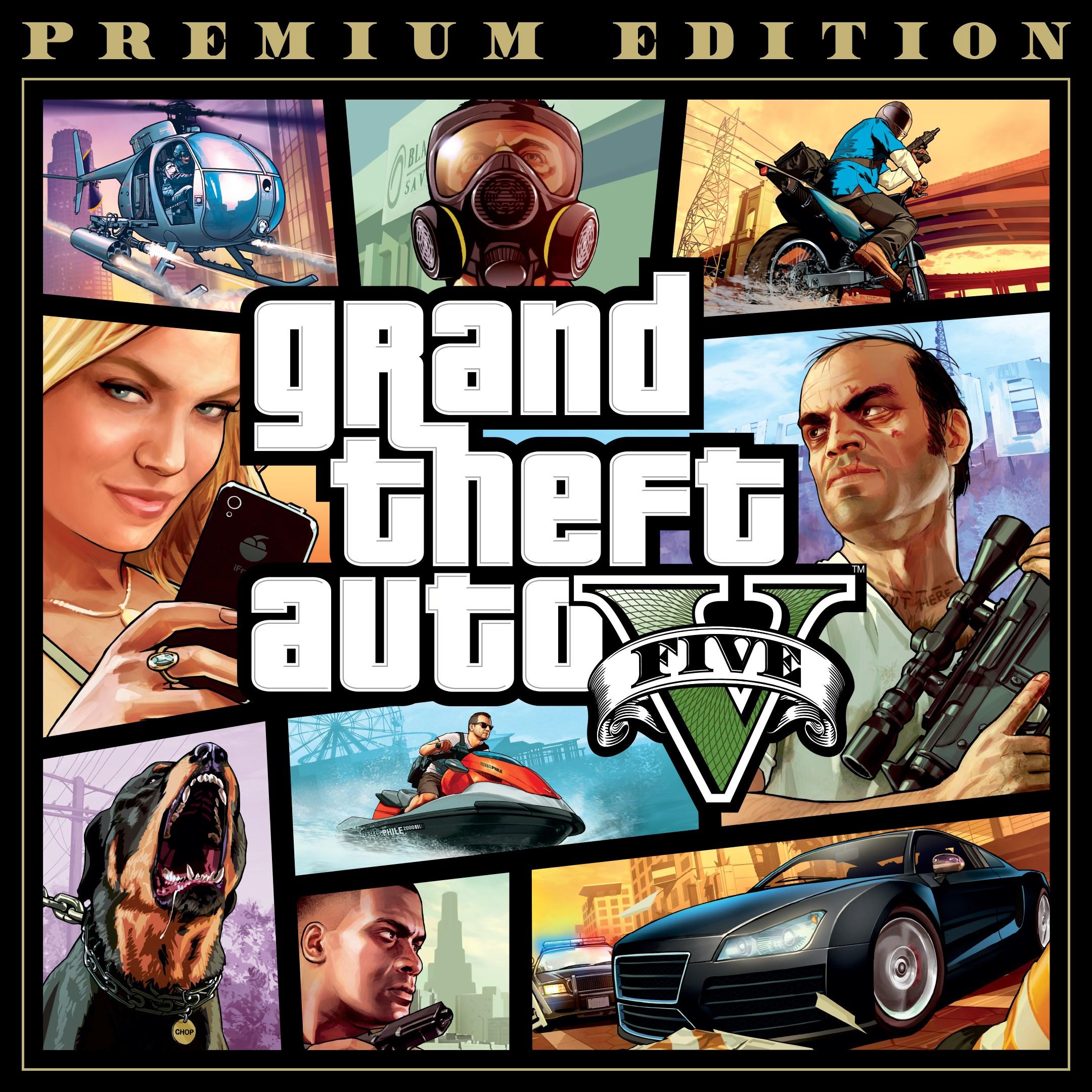 Скриншот №2 к Grand Theft Auto V Premium Edition