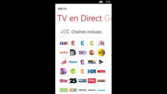 Sfr tv applications windows sur la boutique microsoft - Canalplay com multiecrans ...