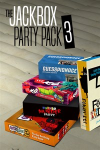 Carátula para el juego The Jackbox Party Pack 3 de Xbox One