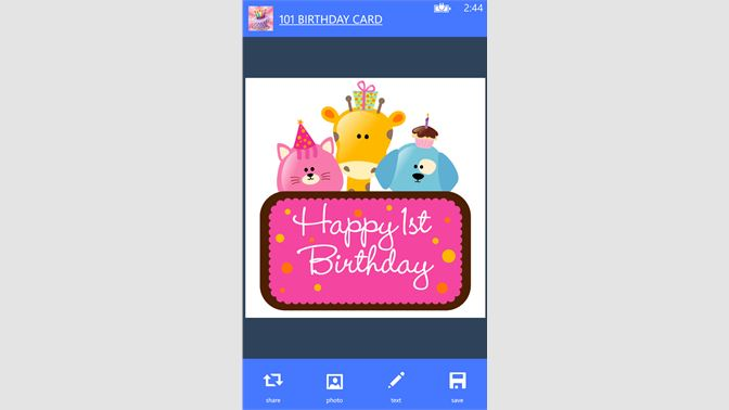 Get 101 Birthday Cards Microsoft Store