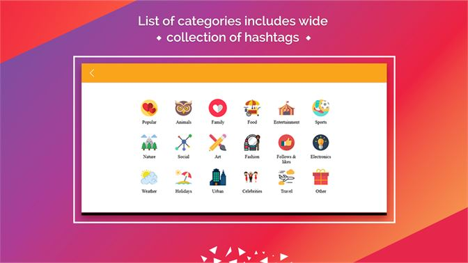 Get Hashtags - Get Likes and Followers - Microsoft Store