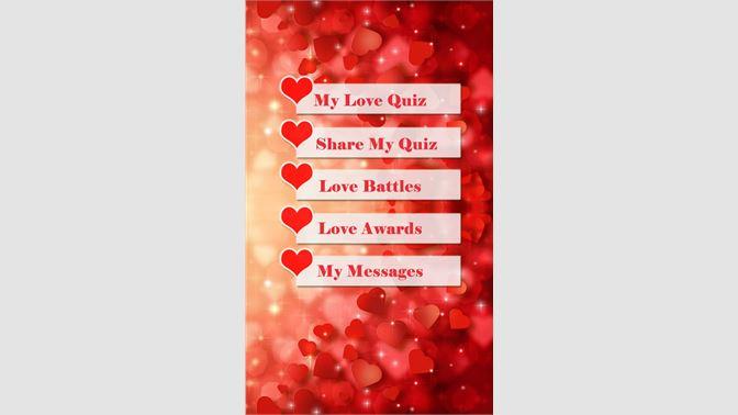 Get Love Quiz Z - Microsoft Store