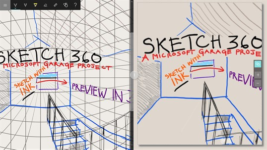 Sketch 360 screenshot