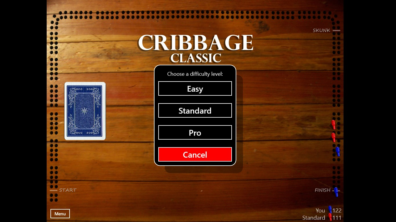 Cribbage Classic For Windows 10