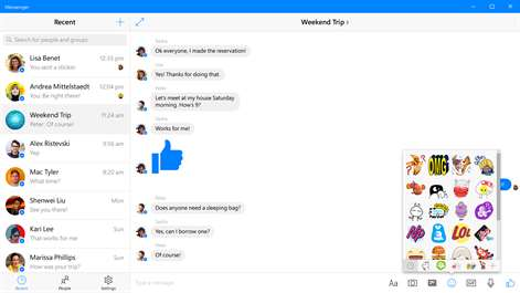 Messenger Screenshots 1