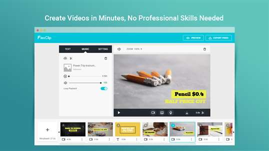 FlexClip: Free Video Editor & Movie Maker screenshot 1