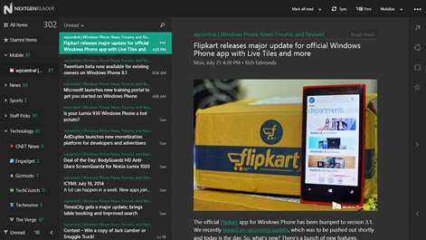 Nextgen Reader Screenshots 2