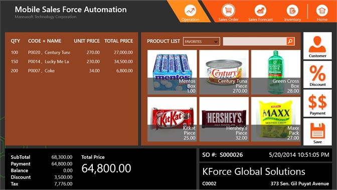 Buy Mobile Sales Force Automation - Microsoft Store