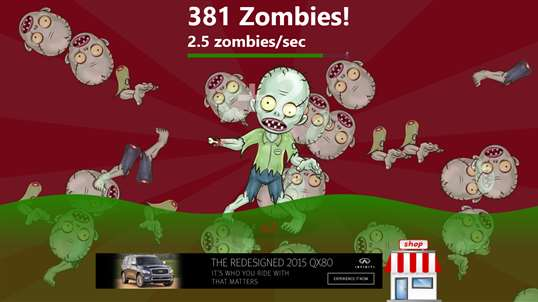 Zombie Clickers! screenshot 1