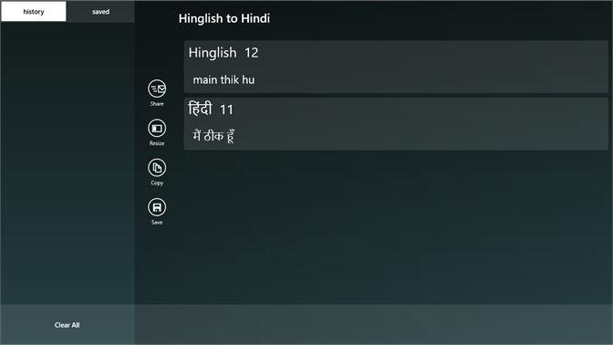 Get Hinglish to Hindi - Microsoft Store en-IN