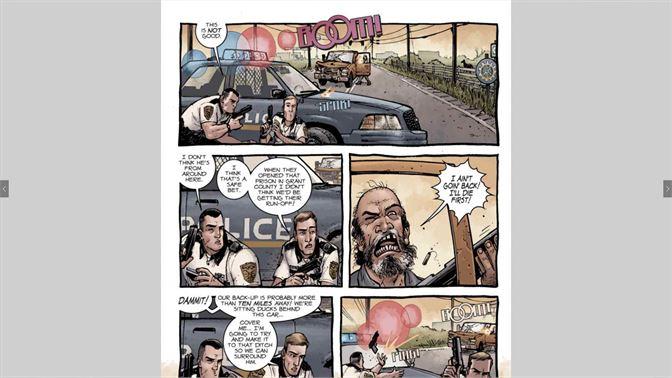 get free comics the walking dead microsoft store