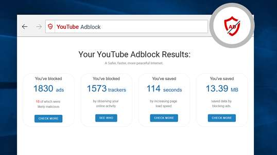 YouTube™ AdBlock screenshot 2