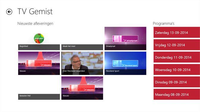 261083d4154 ... De nieuwste afleveringen van uitgezonden programma's bij Omroep  Flevoland ...