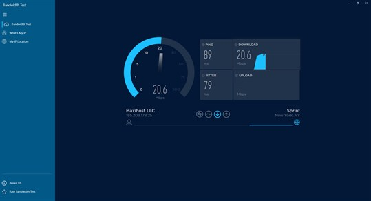 Speed Test - Free Internet Speed Test Tools screenshot