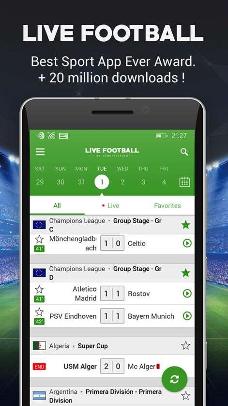 Live Football Screenshots 1