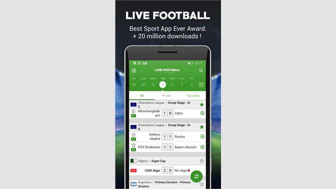 Get Live Football - Microsoft Store