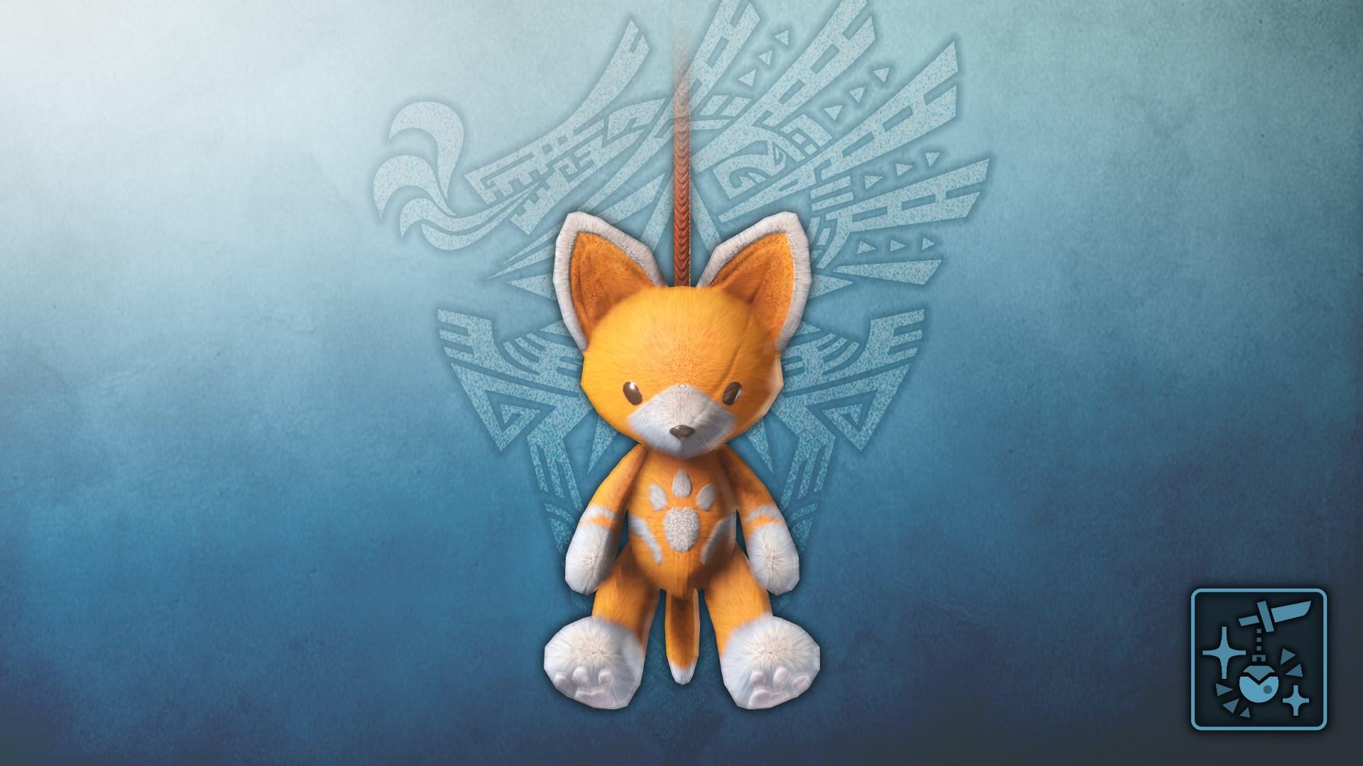Anhänger: Felynen-Teddy (orange)