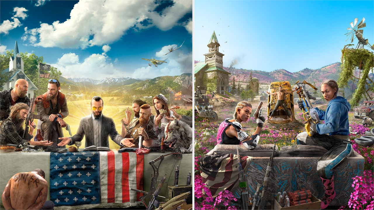 Buy Far Cry 5 Gold Edition Far Cry New Dawn Deluxe Edition