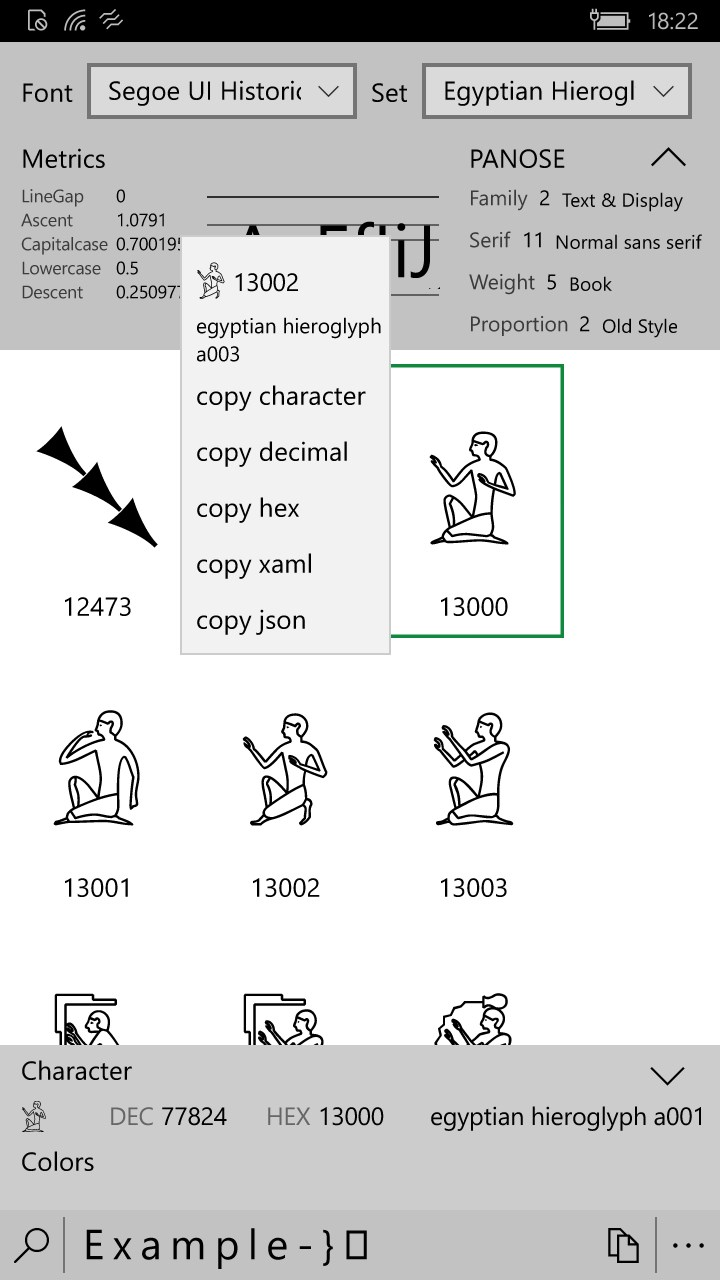 how to open character map windows 10