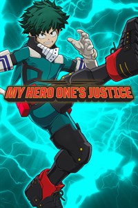 Carátula del juego MY HERO ONE'S JUSTICE Playable Character: Deku Shoot Style
