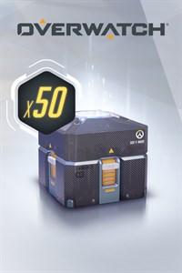 Carátula para el juego Overwatch - 50 Anniversary Loot Boxes de Xbox 360