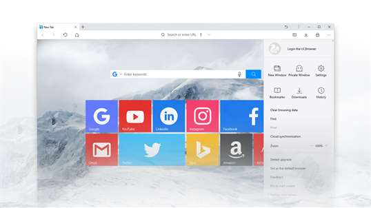 UCBrowser UWP screenshot 3