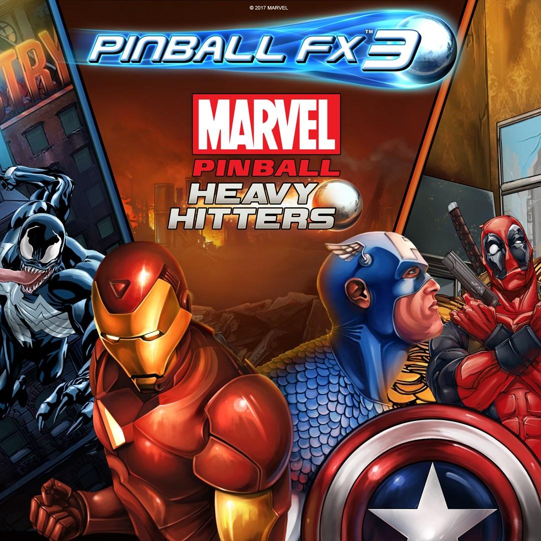 Pinball FX3 - Marvel Pinball: Heavy Hitters