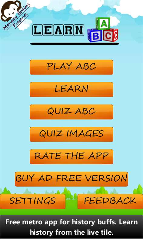 Learn ABC Fun Free Screenshots 1