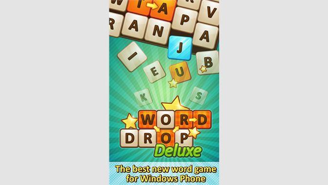 Get Word Drop Deluxe - Microsoft Store