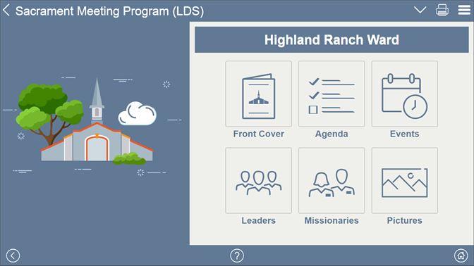 Get Sacrament Meeting Program (LDS) - Microsoft Store