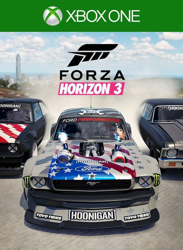 Forza Horizon 3 Hoonigan Car Pack