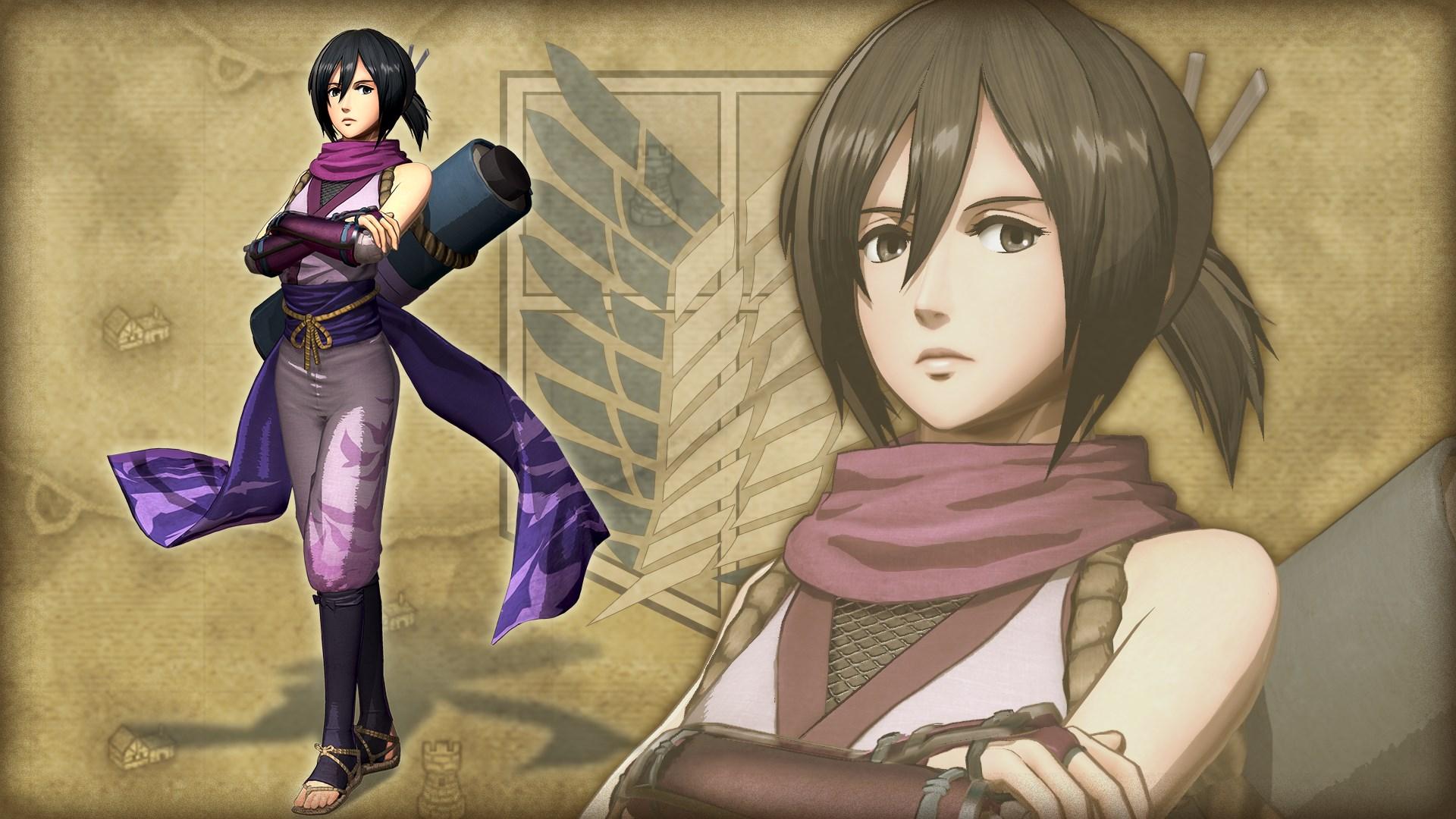 Costume supplémentaire pour Mikasa, ninja