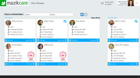 MazikCare Clinic Manager Screenshots 2