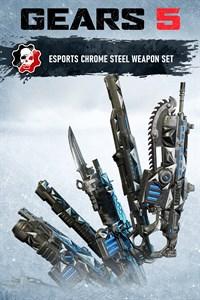 Chrome Steel Weapon Set
