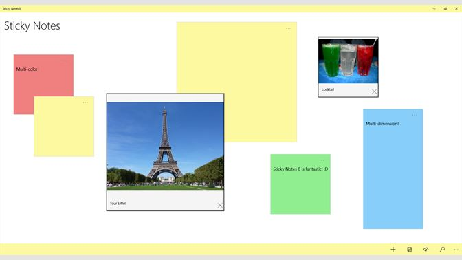 sticky notes for windows 8.1