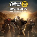 Fallout 76: Wastelanders Deluxe Edition Logo