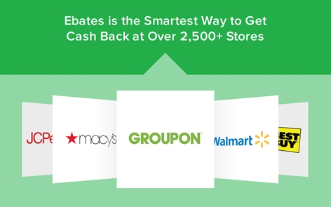 Ebates: The Free Cash Back Shopping Assistant Screenshot